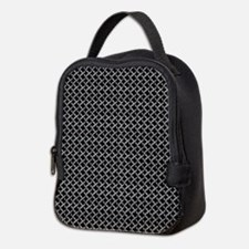 Faux Chainmail Neoprene Lunch Bag