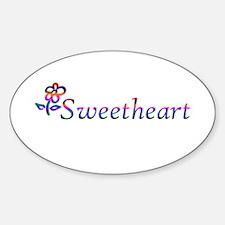Sweetheart Flower Decal