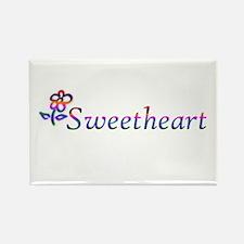 Sweetheart Flower Magnets
