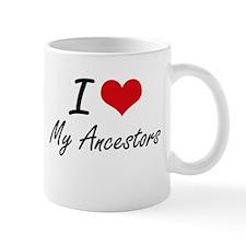 I Love My Ancestors Mugs
