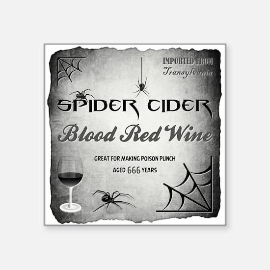 SPIDER CIDER Sticker
