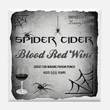 SPIDER CIDER Tile Coaster