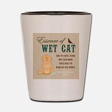ESSENCE OF WET CAT Shot Glass