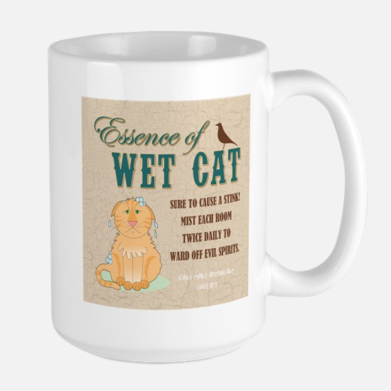 ESSENCE OF WET CAT Mugs