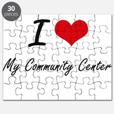I love My Community Center Puzzle