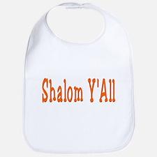 Shalom Y'all Bib