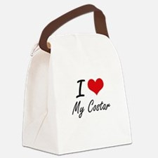 I love My Costar Canvas Lunch Bag