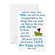 Unique Quotes Greeting Cards (Pk of 20)