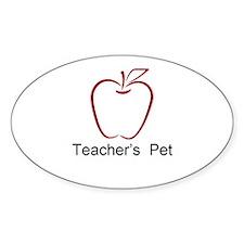 Teachers Pet Apple Decal