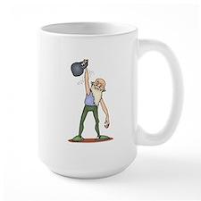 Kettlebell Exercise Mugs
