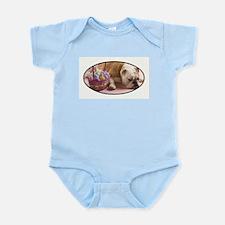 EASTER BULLDOG Infant Bodysuit