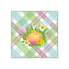 """EASTER EGG Square Sticker 3"""" x 3"""""""