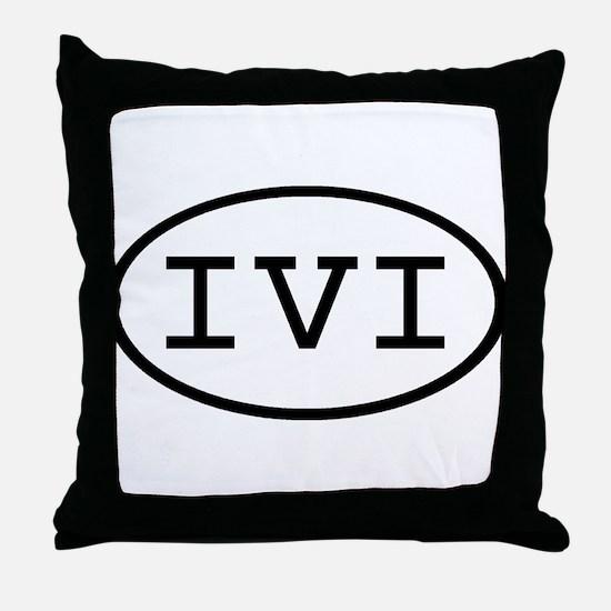 IVI Oval Throw Pillow