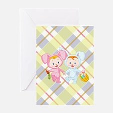 BUNNY KIDS Greeting Card