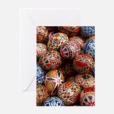 EASTER EGGS Greeting Cards
