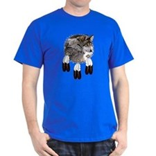 Eagle Feathers Wolf T-Shirt