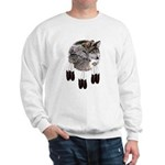 Eagle Feathers Wolf Sweatshirt
