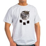 Eagle Feathers Wolf Light T-Shirt