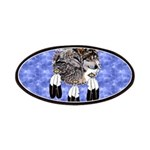 Eagle Feathers Wolf Patches