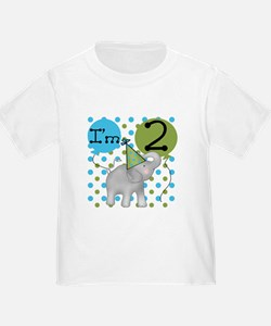 Elephant 2nd Birthday T