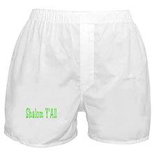 Shalom Y'all Boxer Shorts