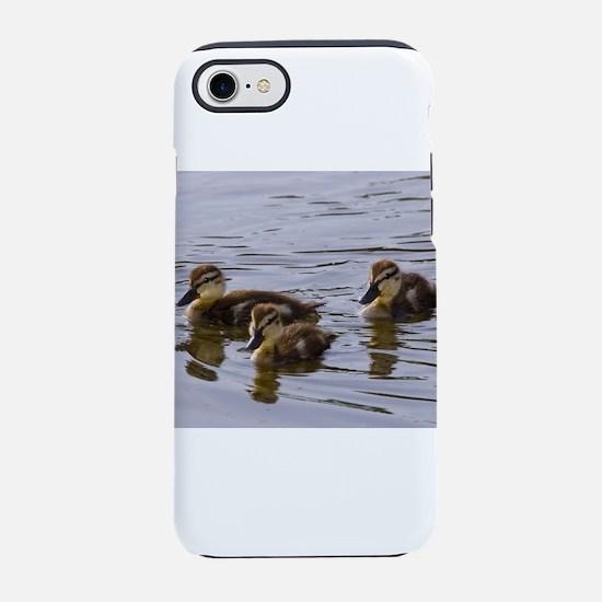 mallard ducklings, Anas platyrhynchos iPhone 8/7 T