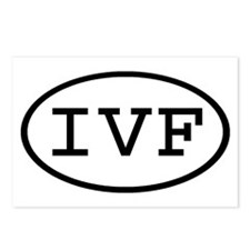 IVF Oval Postcards (Package of 8)