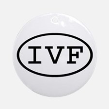 IVF Oval Ornament (Round)