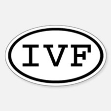 IVF Oval Oval Decal