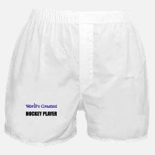 Worlds Greatest HOCKEY PLAYER Boxer Shorts