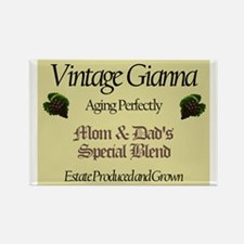 Vintage Gianna Rectangle Magnet (10 pack)