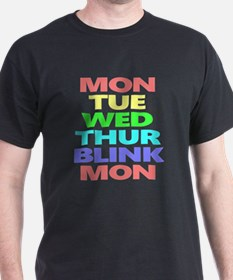 Days of Week T-Shirt