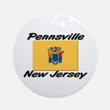 Pennsville New Jersey Ornament (Round)