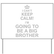 I Cant Keep Calm! Im Going To Be A Big Brother Yar