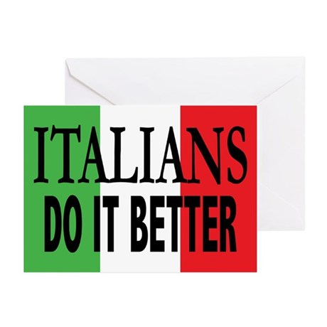 Italians Do It Better Greeting Cards (Pk/20)