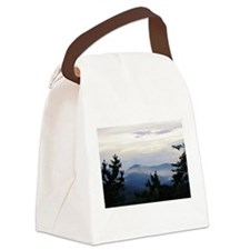 Smoky Mountain Sunrise Canvas Lunch Bag