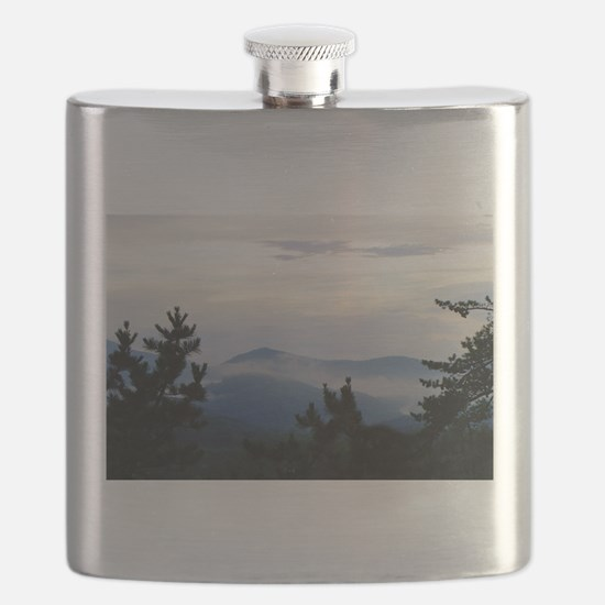 Smoky Mountain Sunrise Flask