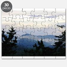 Smoky Mountain Sunrise Puzzle