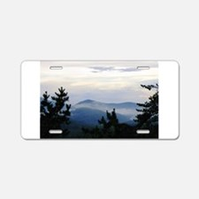 Smoky Mountain Sunrise Aluminum License Plate