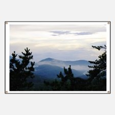 Smoky Mountain Sunrise Banner