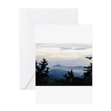 Smoky Mountain Sunrise Greeting Card