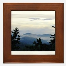 Smoky Mountain Sunrise Framed Tile