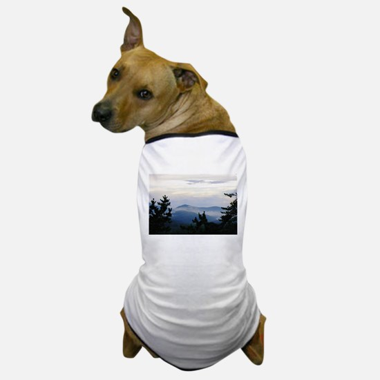 Smoky Mountain Sunrise Dog T-Shirt