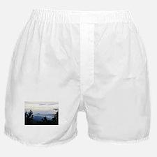 Smoky Mountain Sunrise Boxer Shorts