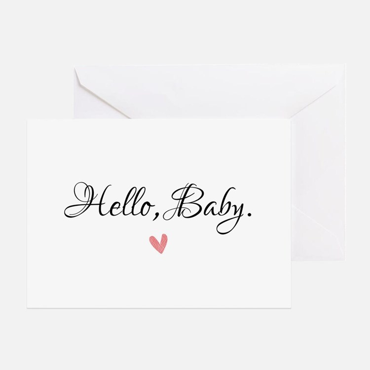 Hello Baby Greeting Cards
