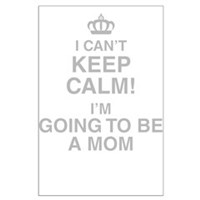 I Cant Keep Calm Im Going To Be A Mom Posters