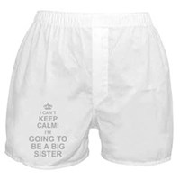 I Cant Keep Calm Im Going To Be A Big Sister Boxer