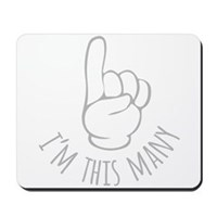Im This Many One Birthday Mousepad