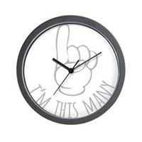 Im This Many One Birthday Wall Clock