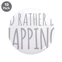 "Id Rather Be Napping 3.5"" Button (10 pack)"